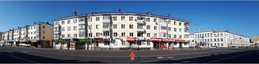 фото фасада полиграфии Лик по ул. Бейбитшилик